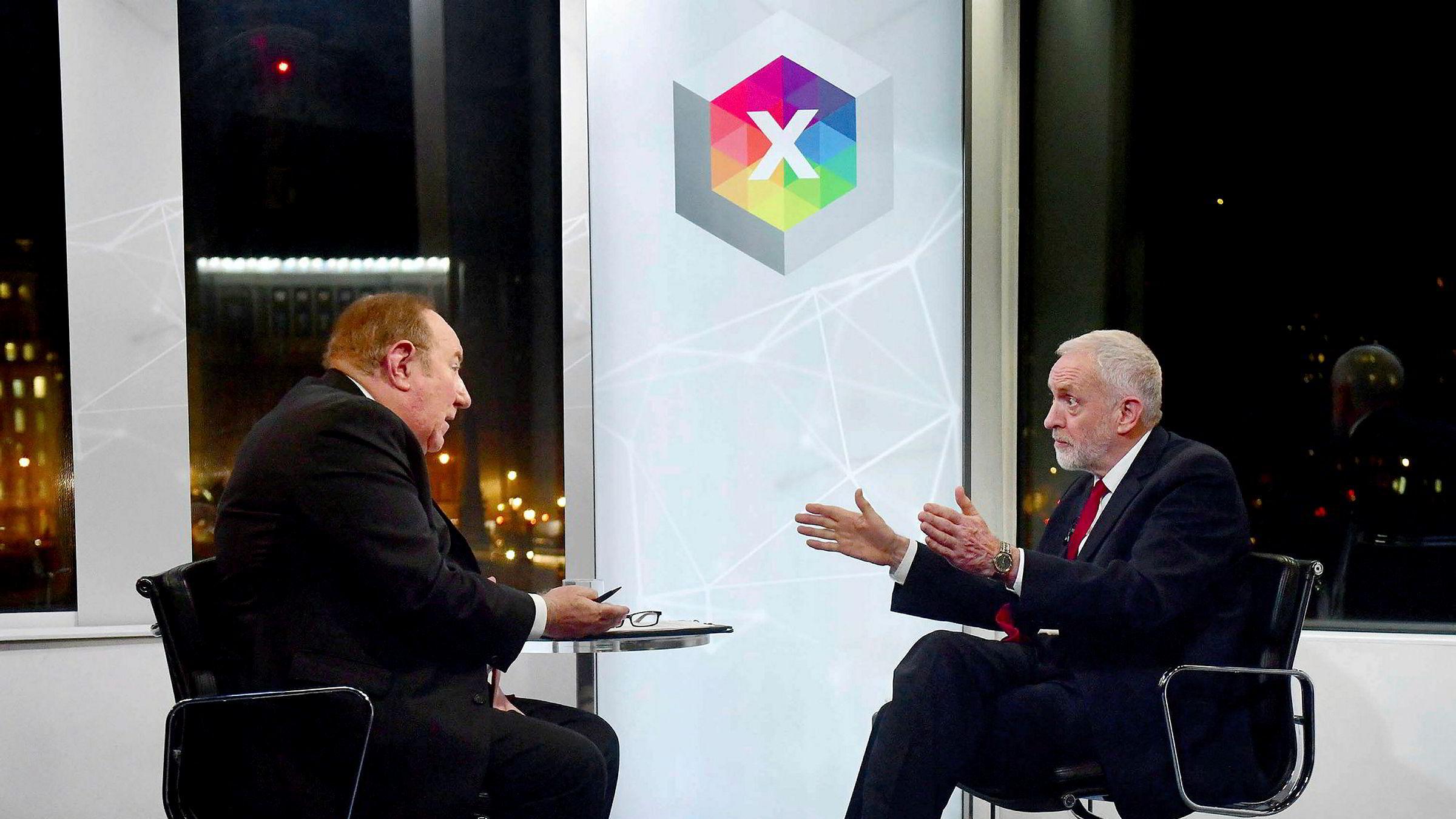 På grillen. BBCs Andrew Neil spurte Jeremy Corbyn fire ganger om partilederenville beklage antisemittisme i Labour. Corbyn svarte på andre ting.