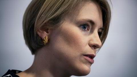 Svs finanspolitiske talsperson Kari Elisabeth Kaski.