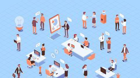 Vi ser at gode og store nettverk styrker produktiviteten, skriver Nils Brede Moe.