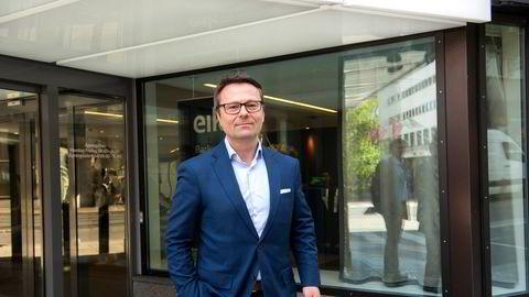 Administrerende direktør Bjørn Slåtto i Eika Kapitalforvaltning får årlig bonus på godt over 100 prosent av grunnlønnen.