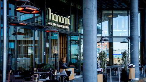 Restauranten Hanami på Tjuvholmen ved Aker Brygge i Oslo.