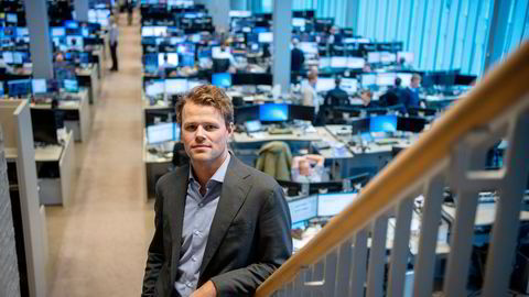 Makroanalytiker Oddmund Berg i DNB Markets tror renten kan bli satt opp tidligere enn Norges Bank har varslet.
