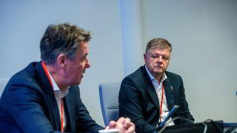 Norwegians finansdirektør Geir Karlsen konsernsjef Jacob Schram hadde en plan b, da regjeringen nektet å gå inn med mer penger tidligere i år.
