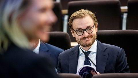 Alexander Opstad, leder for DNB Markets, er godt fornøyd med det han beskriver som et mer normalmarked i tredje kvartal.