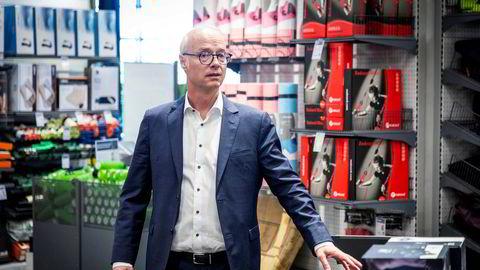 Markedsforholdene tvinger XXL til å redusere kostnadene, ifølge konsernsjef Pål Wibe i XXL.