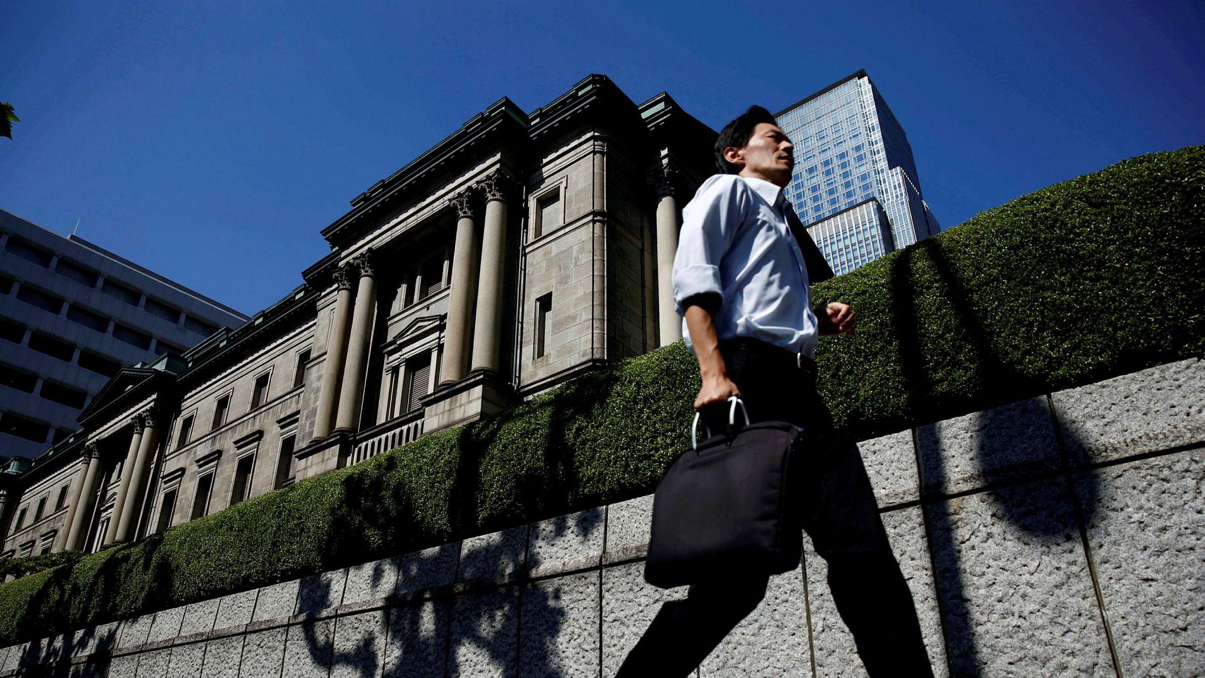 Bank of Japan i Tokyo.