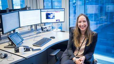 Sjeføkonom Kjersti Haugland i DNB Markets er overrasket over Norges Banks signaler om at renten kan komme opp allerede neste år. Selv tror hun renten først vil begynne å stige høsten 2019.