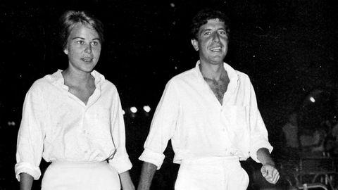 Forbundet for livet. Marianne Ihlen og Leonard Cohen fant tonen på Hydra i 1960. «Mentoren» Cohen brukte den blant annet til å skrive viseklassikeren «So Long, Marianne».