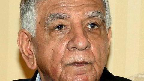 Iraks oljeminister Jabbar al-Luaibi. AFP PHOTO / STRINGER