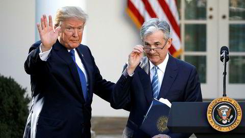 President Donald Trump fikk valget sitt, da Jerome Powell ble utnevnt til sentralbanksjef i USA. I ettertid har han imidlertid ikke vært så veldig fornøyd med dette valget.