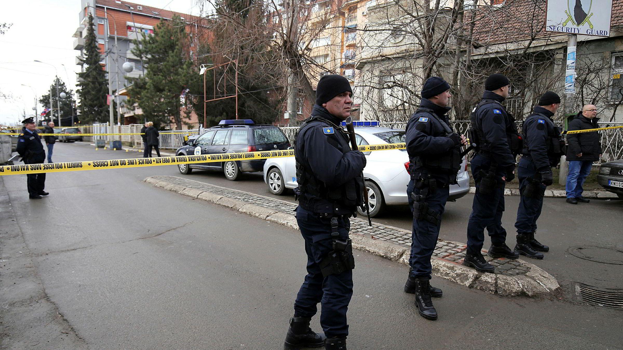 Oliver Ivanovic ble skutt av gjerningsmenn i en bil idet han ankom partikontoret tirsdag morgen..