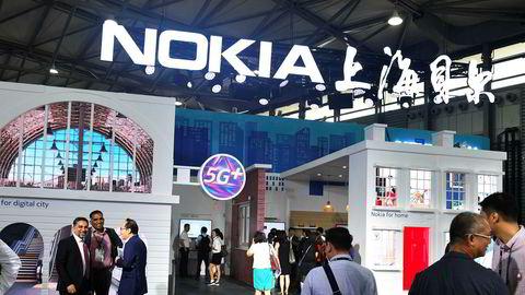 Kinesiske myndigheter vurderer å straffe Nokia og Ericsson med å ilegge selskapene eksportforbud på produkter fra selskapets kinesiske fabrikker, ifølge Wall Street Journal. Her fra Mobile World Conference i Shanghai i fjor høst.