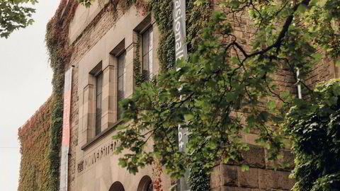 Monumentalt. Nasjonalbiblioteket åpnet som Universitetsbiblioteket i 1914, tegnet av arkitekt Holger Sinding-Larsen
