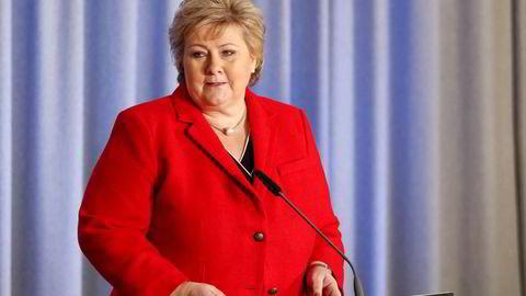 Statsminister Erna Solberg orienterte fredag om tiltak for å støtte bedrifter og næringsdrivende, sikre arbeidsplasser og styrke næringslivet som rammes hardt av koronavirusutbruddet i Norge.
