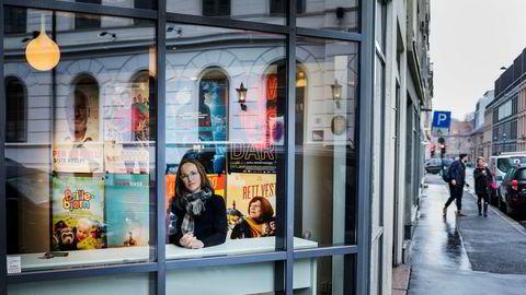 Avdelingsdirektør Stine Helgeland i Norsk filminstitutt mener Netflix-topp Ted Sarandos bedriver digital hersketeknikk når han beskriver kravene om kvotering av europeisk innhold i strømmetjenestens biblioteker som gammeldags.