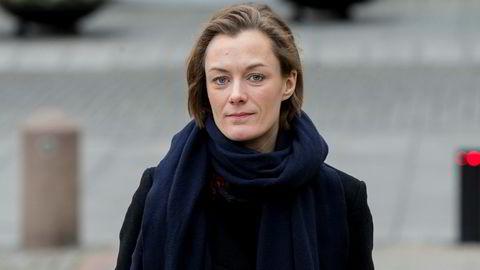 Anette Trettebergstuen er kritisk til at kronprinsesse Mette-Marit har pleiet omgang med overgrepsdømte Jeffrey Epstein. Foto: Vidar Ruud / NTB Scanpix