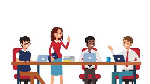 Når du er dame med snakketøyet i orden, og du jobber med noe innen teknologi, er veien kort til «teknologiekspert», skriver Helena Brodtkorb i kronikken.