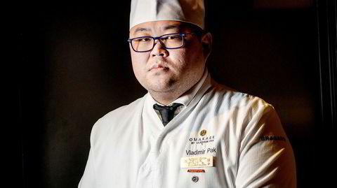 Sushikokken Vladimir Pak fikk michelinstjerne: – Jeg blir nervøs hver eneste kveld