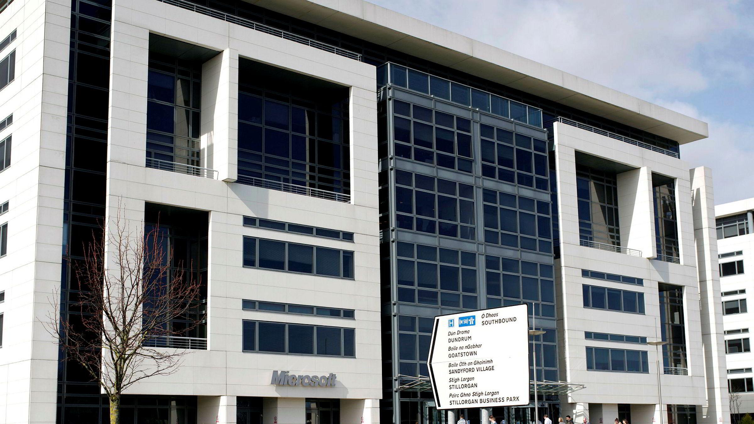I forbindelse med etterforskningen i en narkotikasak fikk Microsoft rettslig pålegg om å utlevere data som blant annet var lagret i et megadatasenter utenfor Dublin i Irland, skriver innleggsforfatteren.