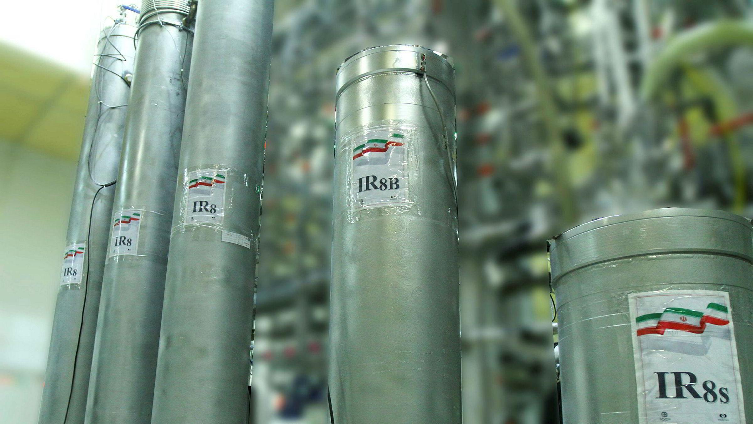 Iran vil starte anriking av uran som er i brudd med den internasjonale atomavtalen. USA reagerer.