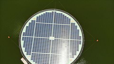 Ocean Suns flytende solkraftanlegg er installert på Magat Dam på Filippinene og har en kapasitet på 220 kW.