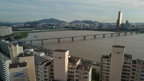 JOrdskjelvet kunne merkes godt også her i hovedstaden Seoul.