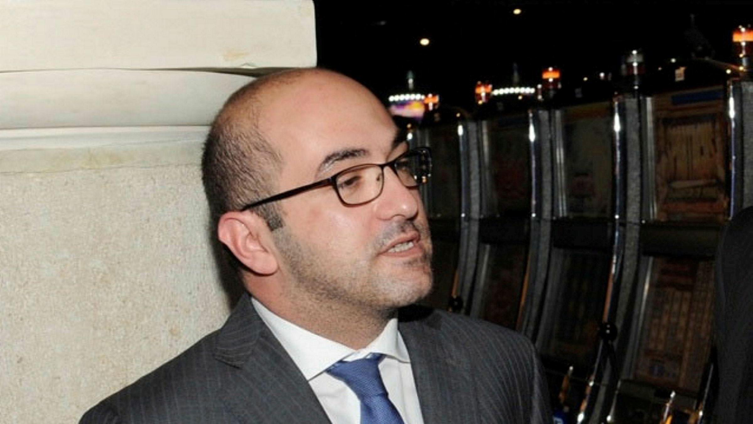 Yorgen Fenech er pågrepet i forbindelse med drapet på journalist Daphne Caruana Galizia, bilde fra 2014.