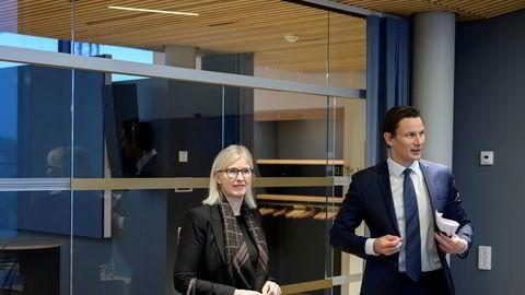 Wikborg Rein-partnerne Elisabeth Roscher og Geir Sviggum leder granskningen av islandske Samherji.