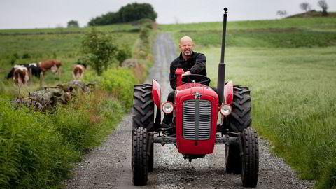 Bjørn Rygg i BR Industrier har bygget milliardbutikk på norske bønder.