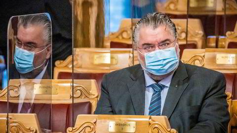 Visepresident Morten Wold tror ikke Stortinget vil hjelpe Nobelkomiteen.