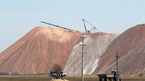 Belaruskalis gruver ved byen Soligorsk har blant verdens største forekomster av kalium, som er viktig i Yaras produksjon av kunstgjødsel.