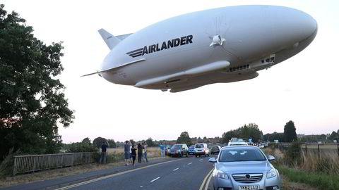 Luftskipet Airlander hadde sin første testflyvning i 2016 ved Cardington Airfield nord for London.