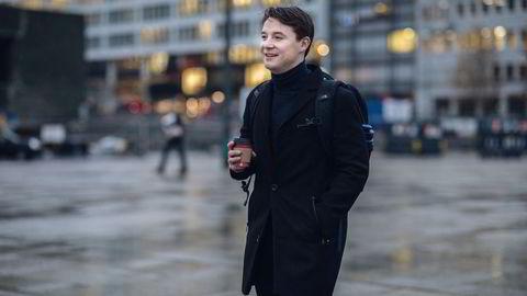 Arne Magnus Lorentzen Ulland startet sin egen blogg hvor han viste frem investeringsstrategiene sine. Det hjalp ham i jobbjakten, mener han.