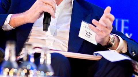 Storaksjonær Tor Olav Trøim tegnet seg for nesten 23 millioner kroner i emisjonen i Borr Drilling sist fredag.