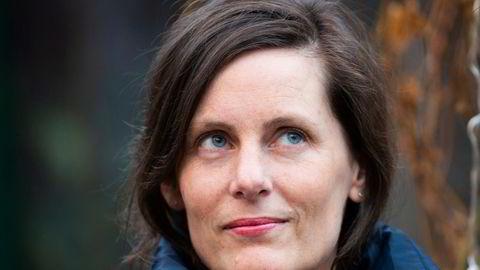 Forfatter Monika Isakstuen har faktisk ingen bøker på nattbordet.