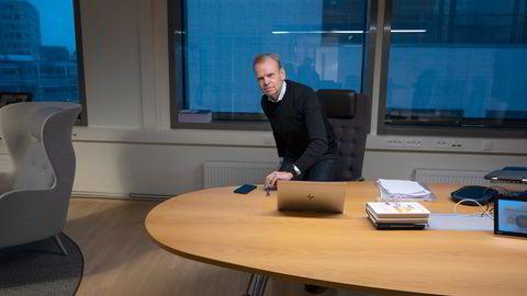 Yara-sjef Svein Tore Holsether er bekymret for konsekvensene av de høye gassprisene i Europa.