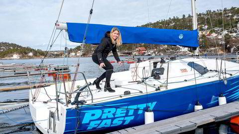 Oda Heitmann, daglig leder hos Heitmann Marin i Drøbak, er på det nærmeste utsolgt for båter.