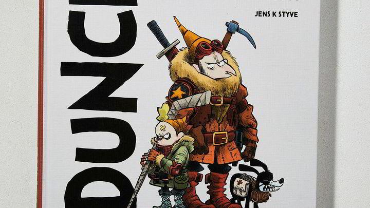 2019s beste tegneserier er laget av Martin Ernstsen, Jens K