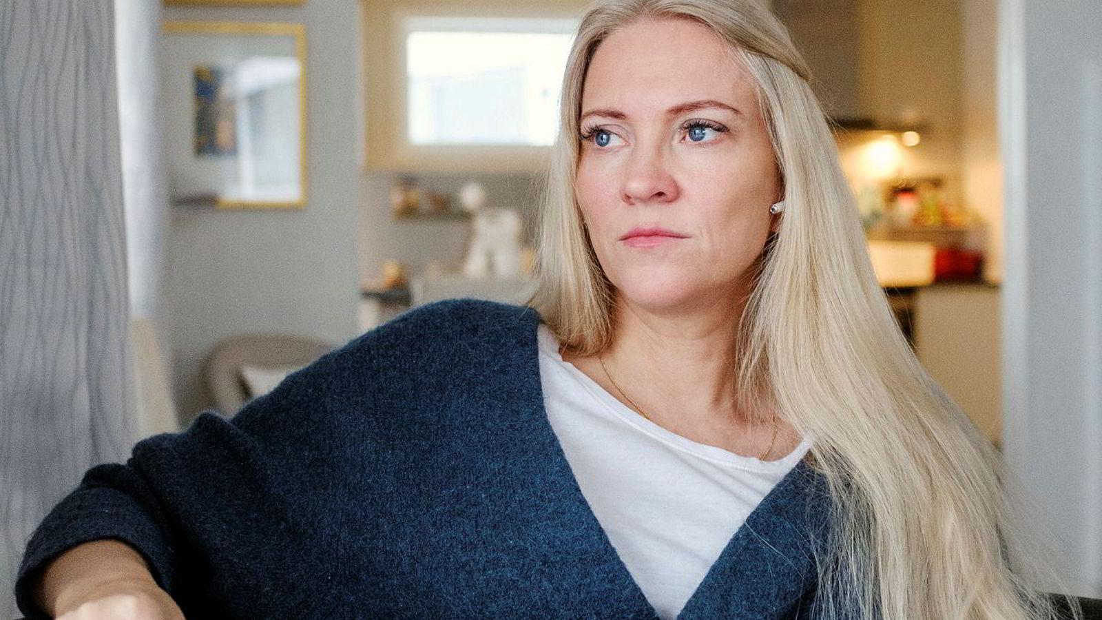 Lill Sverresdatter Larsen, forbundsleder i Norsk sykepleierforbund er bekymret for mangel på smittevernutstyr til helsepersonell.