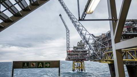 For et naturgasskraftverk i Storbritannia er gasskostnaden nå tre-fire ganger høyere enn totalkostnaden for fornybar energi, skriver Ole André Hagen. Her fra Oseberg-feltet.