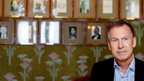 Direktør i Nobelinstituttet, Olav Njølstad, forteller at norske milliardærer ikke var spesielt mottagelige for ønsket om donasjoner til instituttets forskningsvirksomhet.