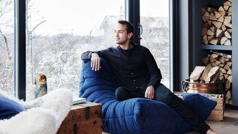 Som barn hadde Lars Erik Oterhals store planer om å bli sjef.