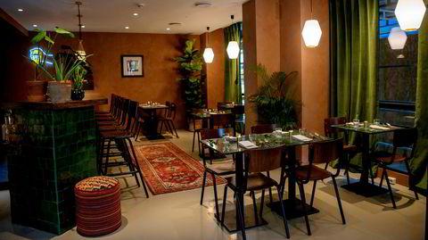 Silk Roads interiør fremstår som fine dining for backpackere.