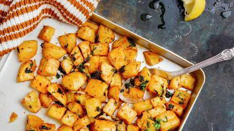 Batata harra betyr rett og slett spicy poteter. Uimotståelige er de også.