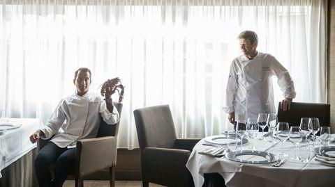 Arvtager. – Når gjestene spør hvor jeg kommer fra, svarer jeg Midsund. Det var ikke akkurat det de tenkte på, sier Vinay Tangen, til venstre, som ble adoptert fra India seks måneder gammel og vokste opp i en matglad familie på Møre-kysten. Nå er han pekt ut som arvtageren til Lars Erik Underthun.