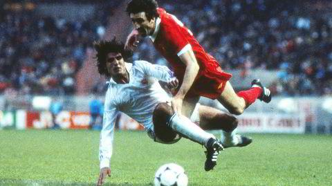 Finalen i Paris. Liverpool og Real Madrid møttes i finalen i den europeiske serievinnercupen i 1981. Andrés Sabido vant denne duellen mot David Johnson, men til slutt var det Liverpool som ble mestere. Kampen endte 1–0.