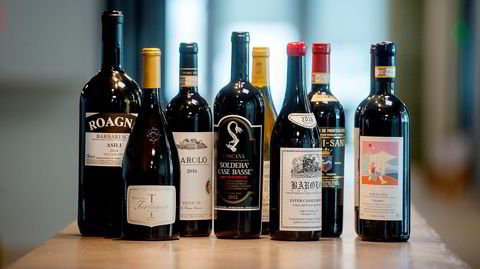 En stor håndfull av de beste vinene fra Polets spesialbutikker sitt italiensk vinslipp på mandag.