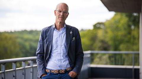 Denne uken åpnet Lars Erik Lund seg på Facebook. Konserndirektøren i Veidekke fortalte om depresjonen sin.