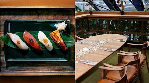 Black Napkins byr på japansk luksus i Røa torg.