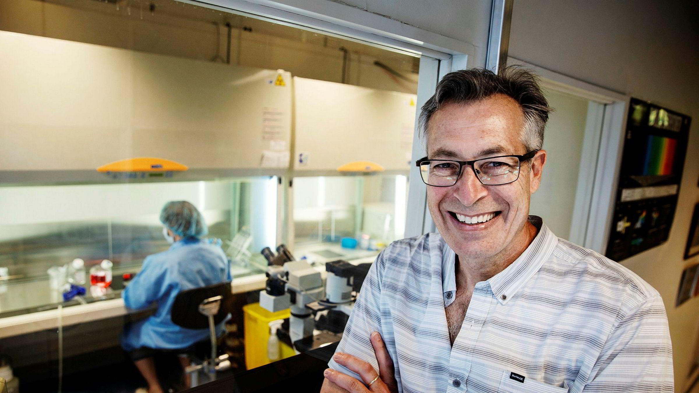 Professor Joel Glover ved Nasjonalt senter for stamcelleforskning forsker på bruk av stamceller i kunstige organer laget ved hjelp av 3D-printing.